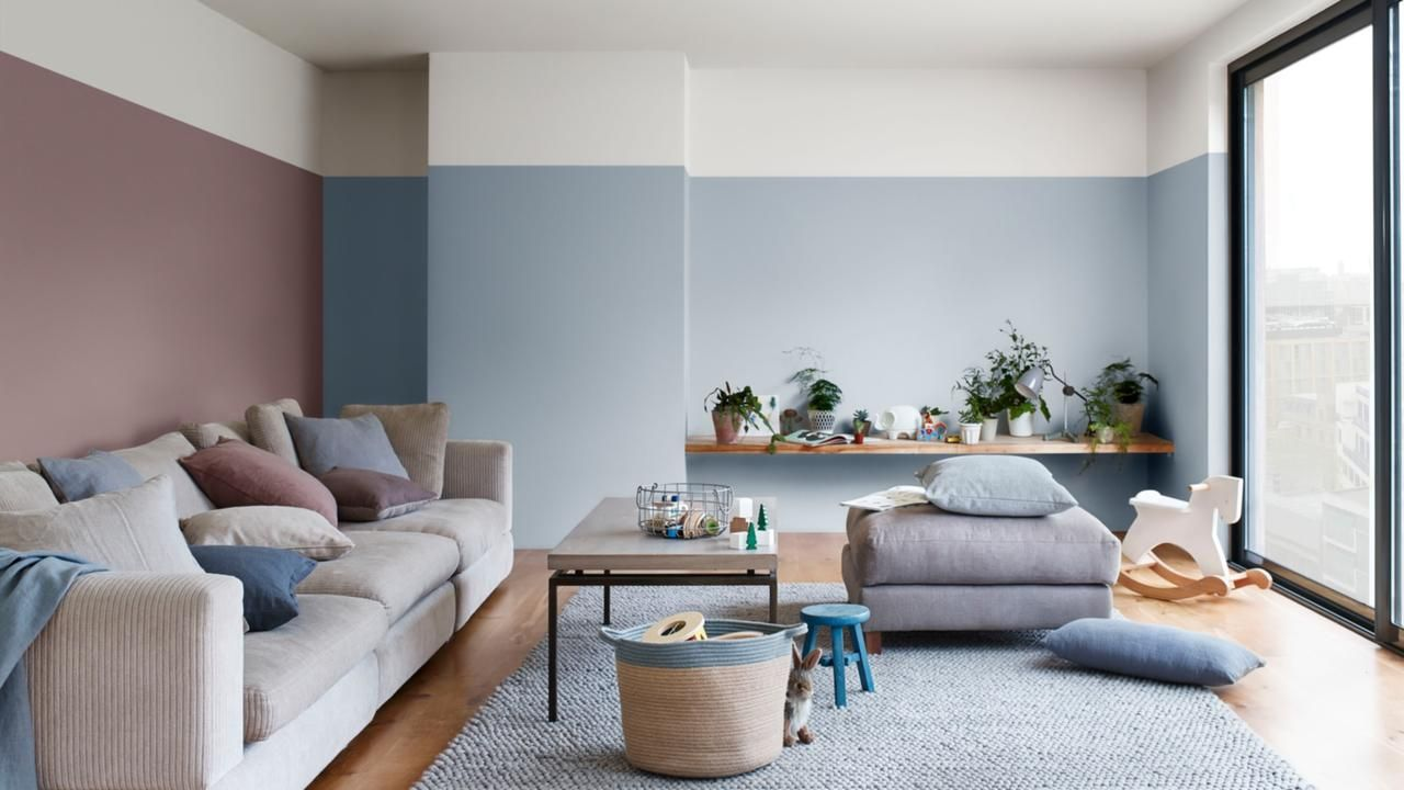 Flexa kleur van het jaar 2018 ontspannen & relaxen met familie