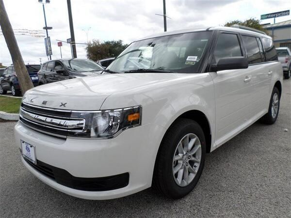 2014 Ford Flex White Suv I Don T Care For The Outside But The