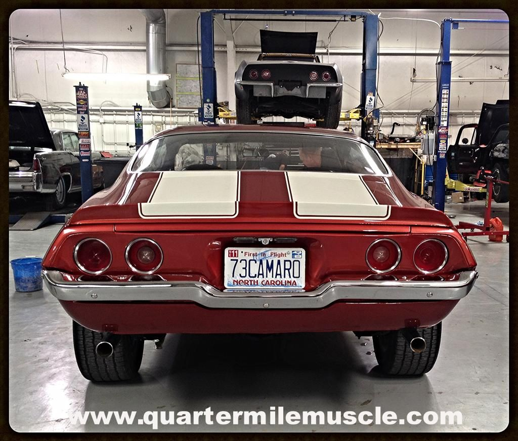 Classic Camaro Restorations By Quarter Mile Muscle Inc