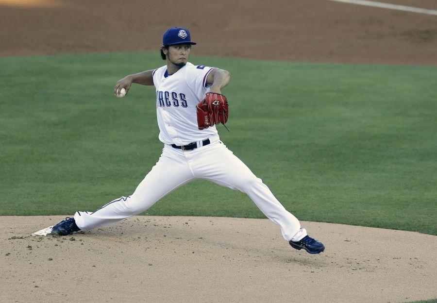 Yu Darvish throws 50 pitches in threeinning rehab