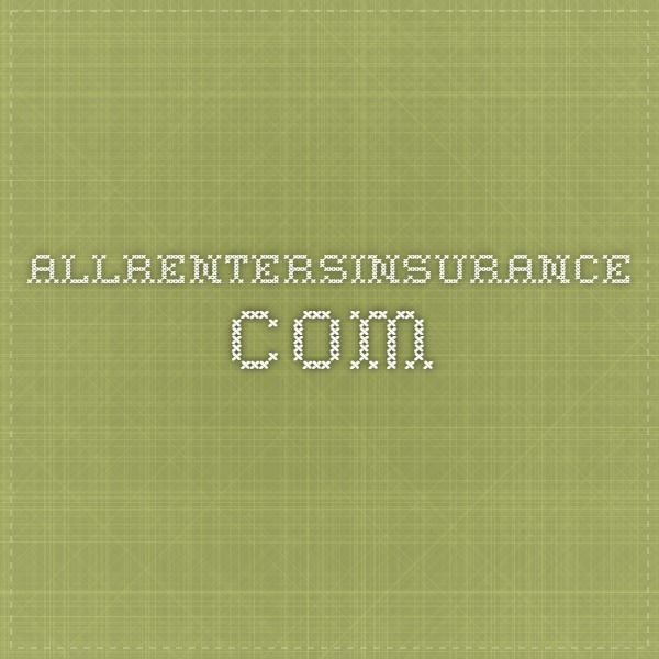 Allrentersinsurance Com Renters Insurance Insurance Quotes