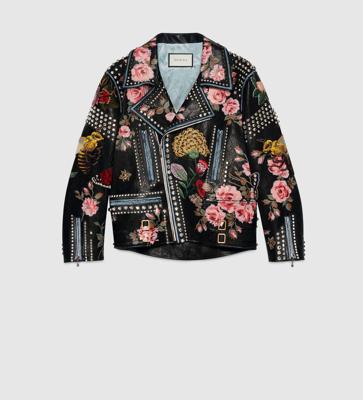 gucci pre fall 16 leather jacket · Blazers Et Vestes Pour FemmesVestes ... f114d9fa014