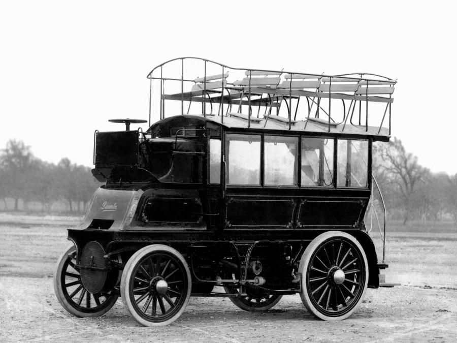 Daimler Imperial Double Decker Bus 1899 | Vintage trucks