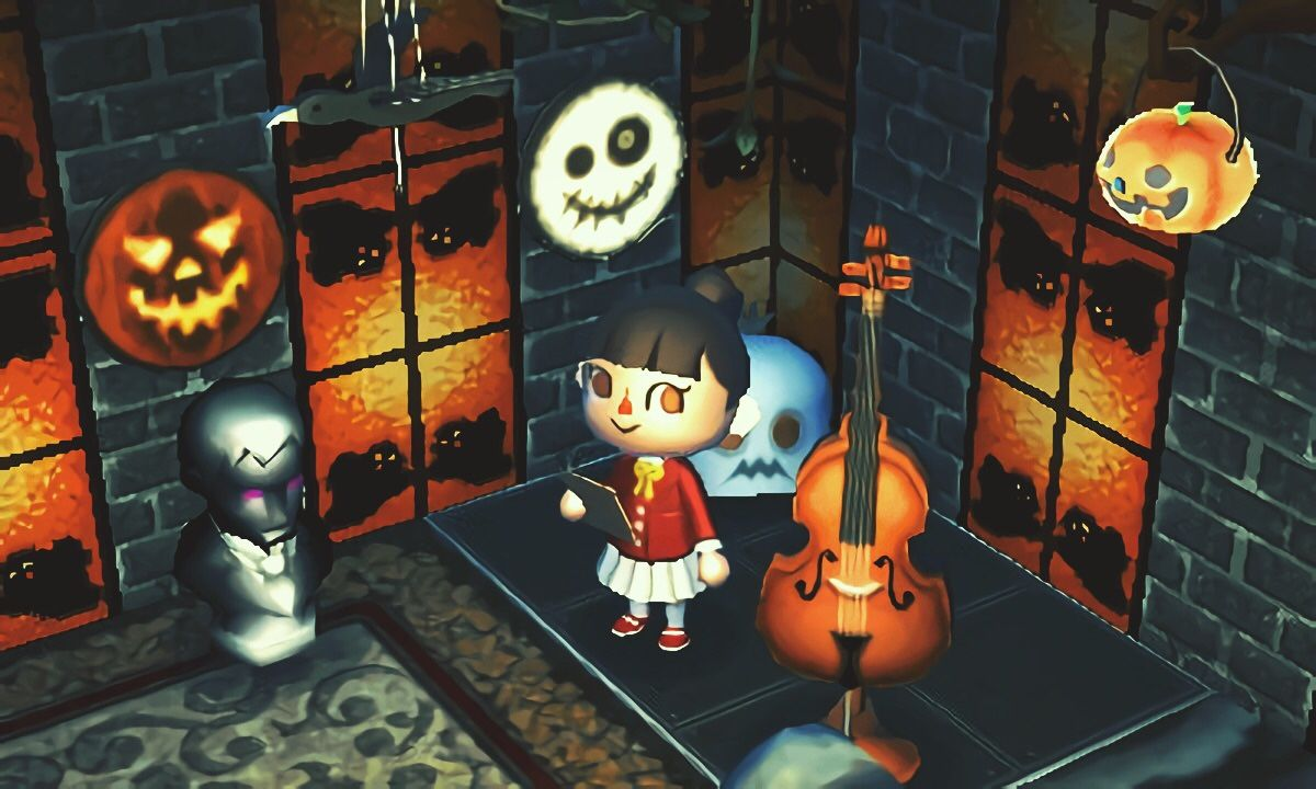 Animal Crossing Diary — Preparation for halloween party