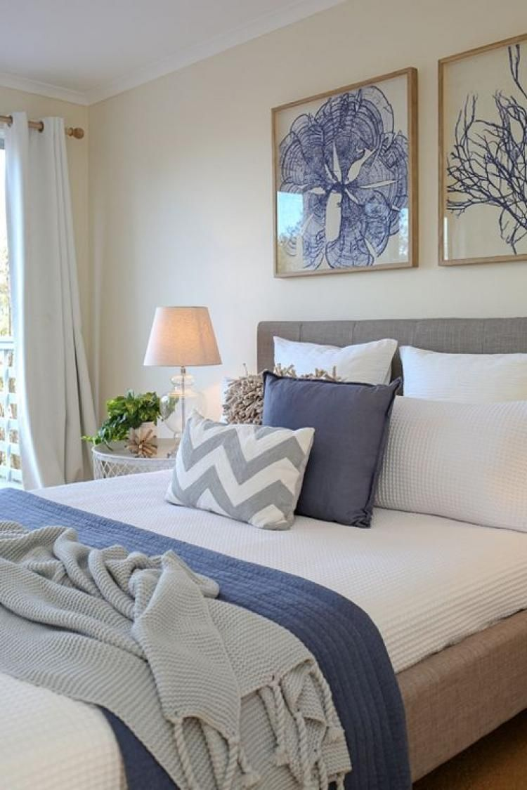 Beach Coastal Style Bedroom Decor Ideas Shabby Chic Bedrooms