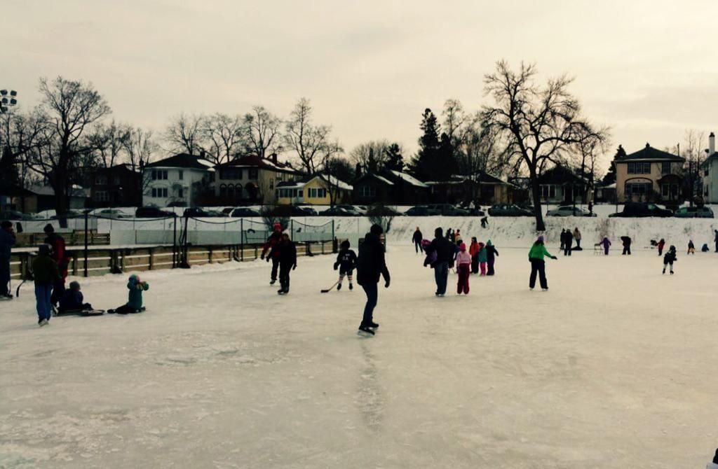 Great day for skating in St. Paul! Find up to date rink info here: http://goo.gl/3fhRZZ