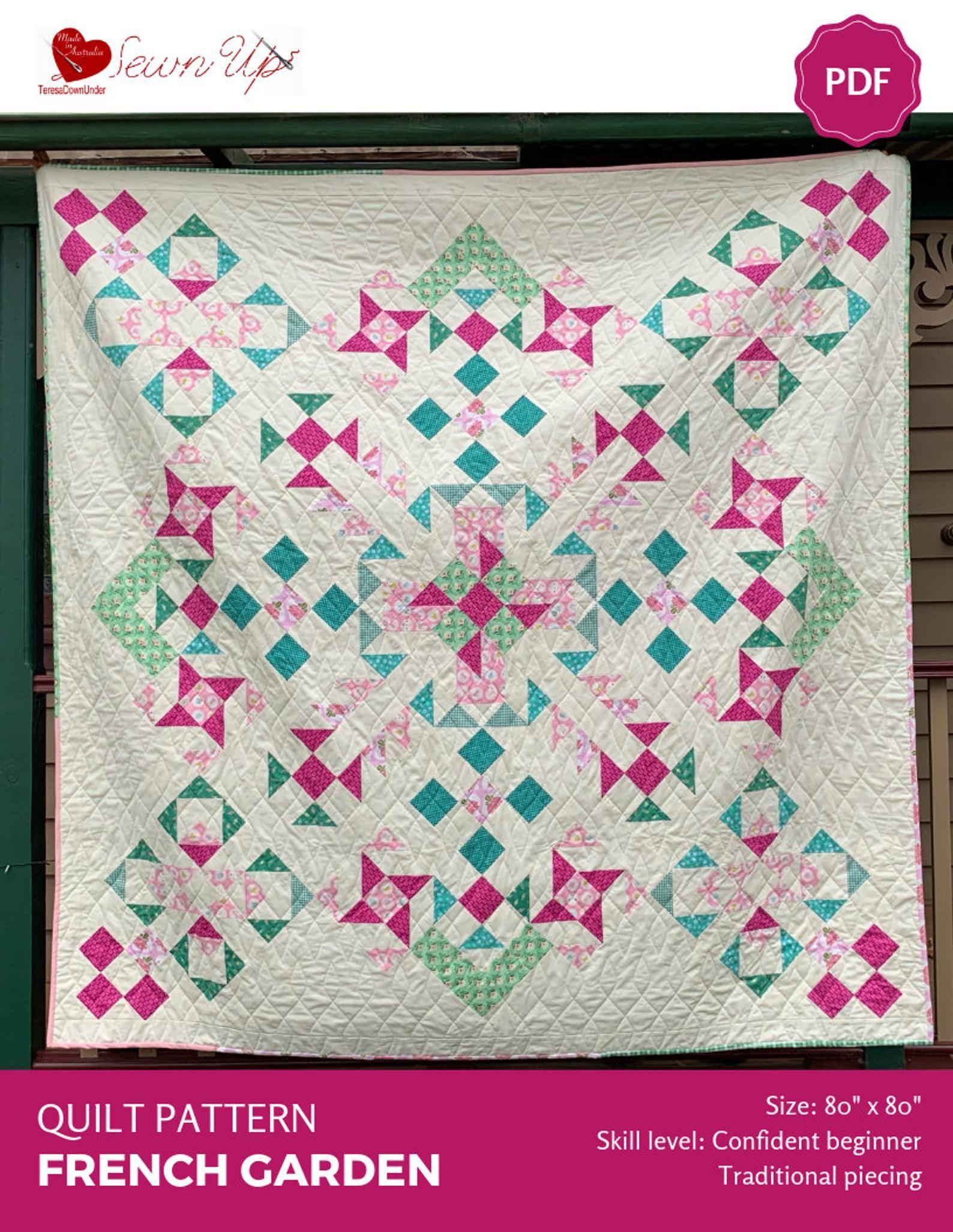 French Garden Quilt Pattern