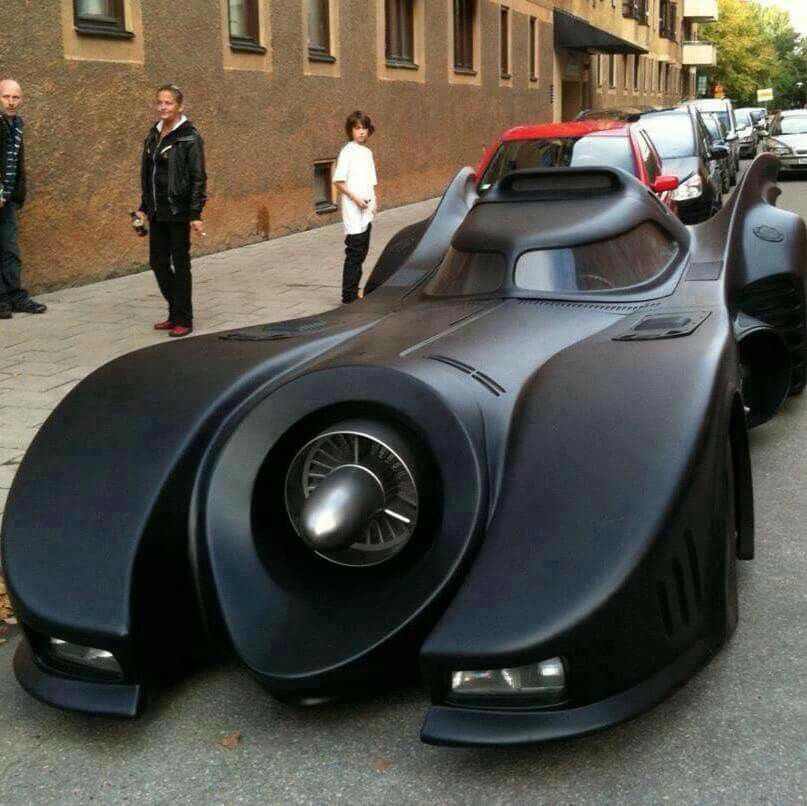 Borrowed this from FB, bet this was hard to park? Whatz up Batman?