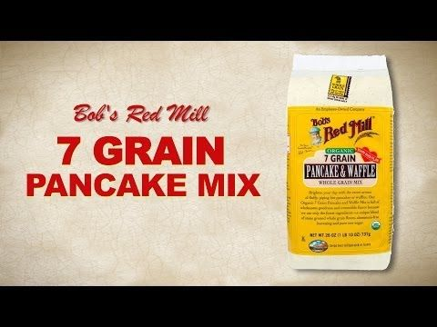 Organic 7 Grain Pancake Mix :: Bob's Red Mill Natural Foods