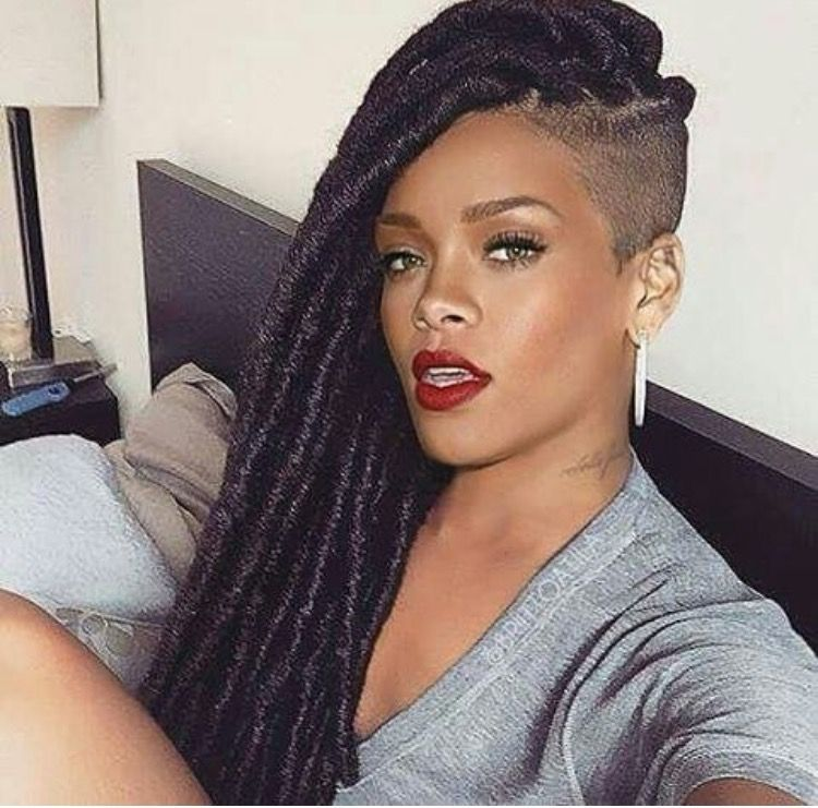Pin by LeratoLee Nape on Locs | Shaved side hairstyles, Braids with shaved sides, Cornrows ...