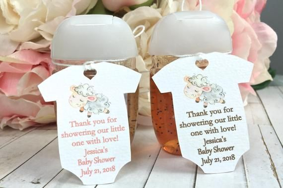Little Lamb Baby Shower Favor Tag Onesie Baby Shower Favor Tag