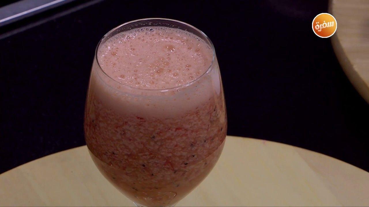 طريقة تحضير كوكتيل فراولة بالكيوي شريف الحطيبي Food Desserts Breakfast