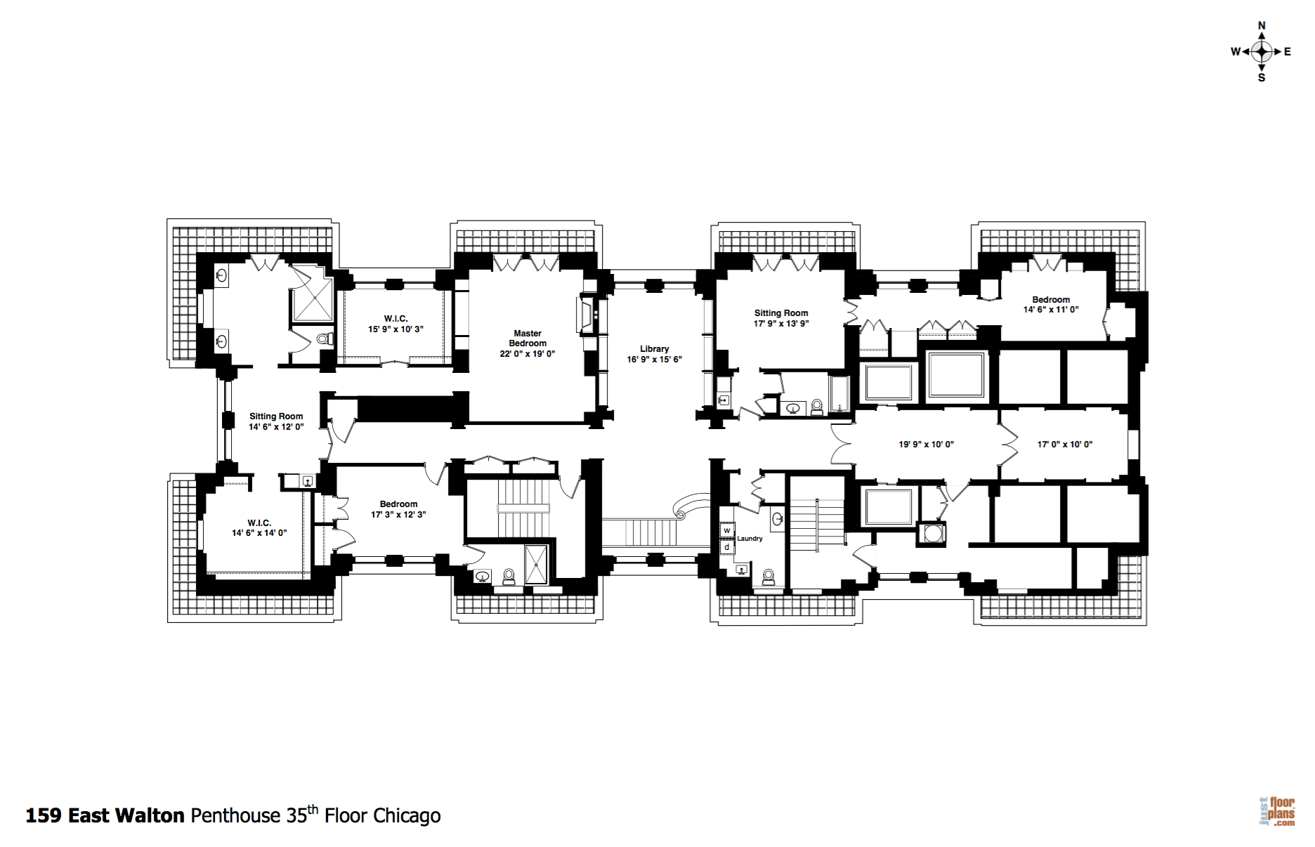 Image result for seattle penthouse floor plans home for Seattle house plans