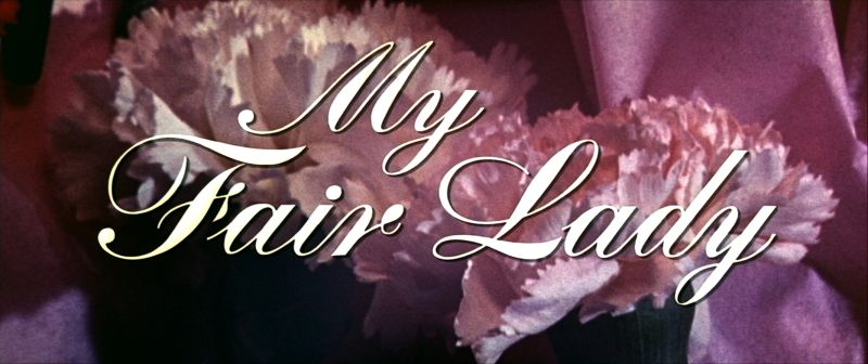 Image result for my fair lady title card