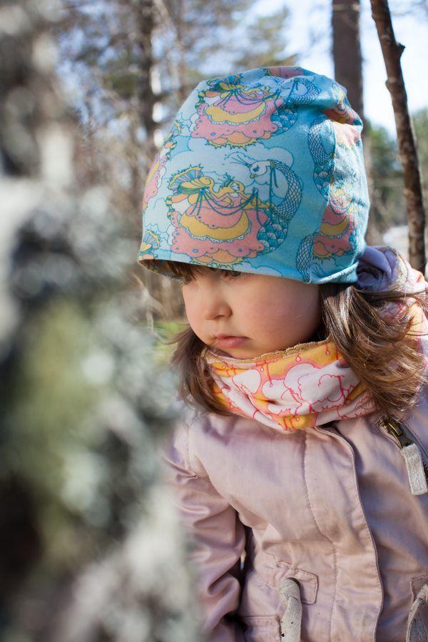 Vaapukka-kesäpipo, sininen (koot 38-54) | Poutapukimo