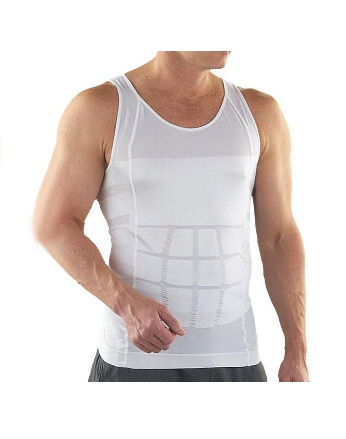 Apple Curves Men Abs Slimming Vest