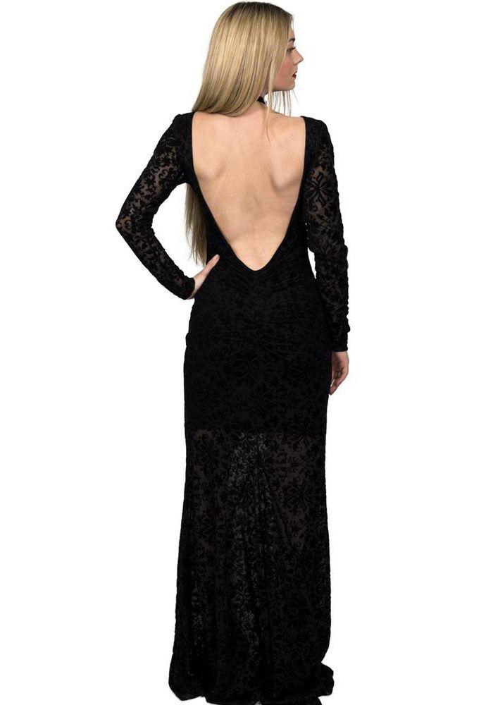 a40f8347497b Φόρεμα maxi see through με βελούδινα σχέδια. Το φόρεμα είναι ελαστικό έχει  μακρύ μανίκι και