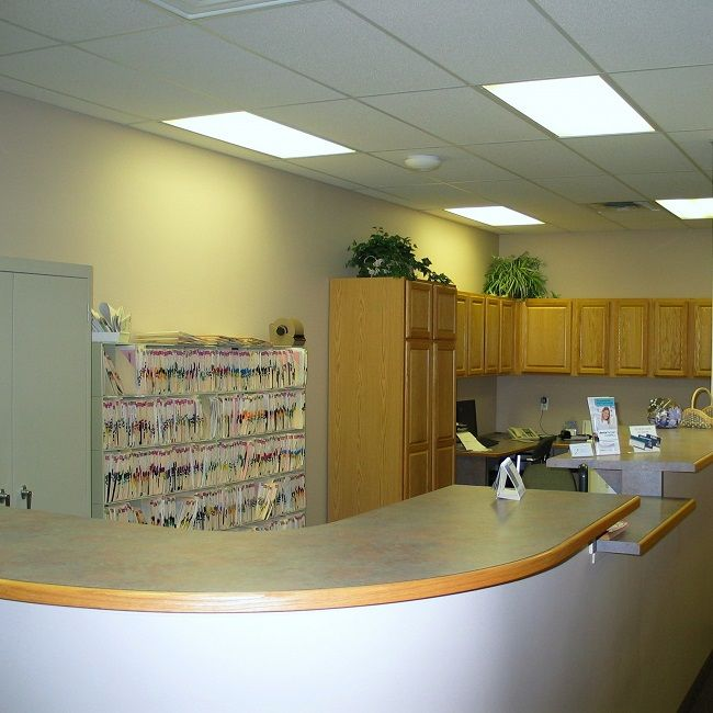 #Frontoffice At The #dentalclinic Of Michael J Aiello, DDS