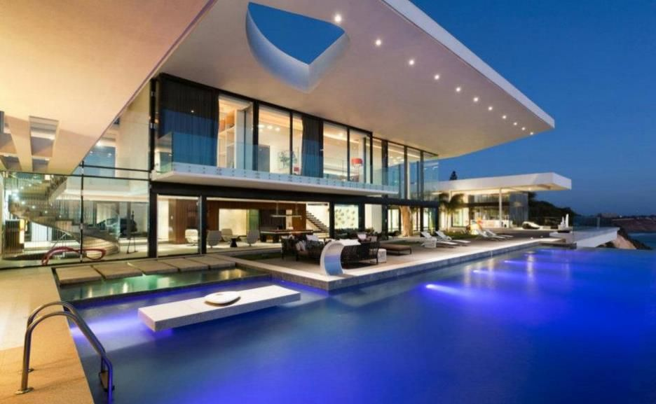 A beautiful poolside and home. Does this house belong to any of you?