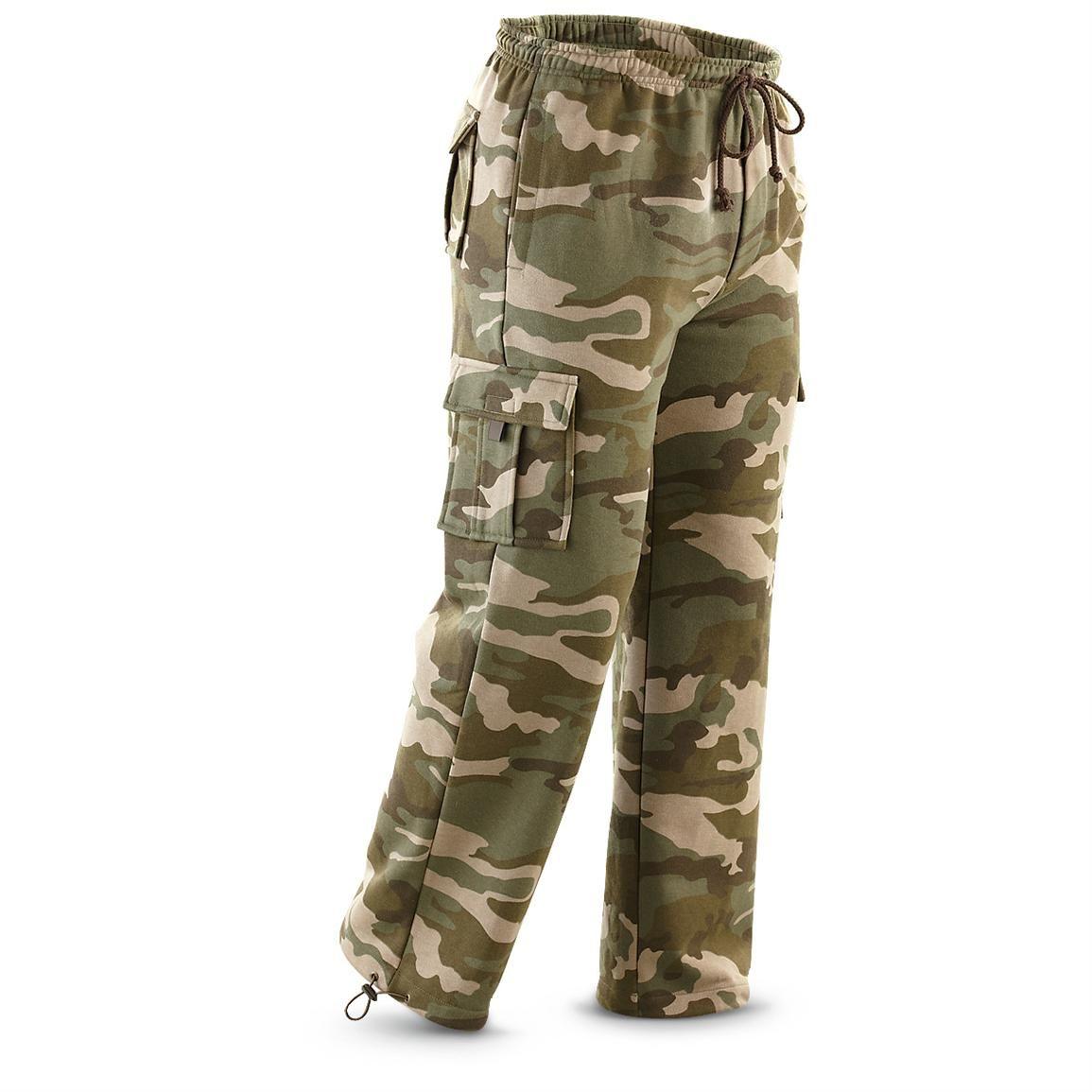 Stay warm and cozy in Guide Gear® Fleece Cargo Pants. 19