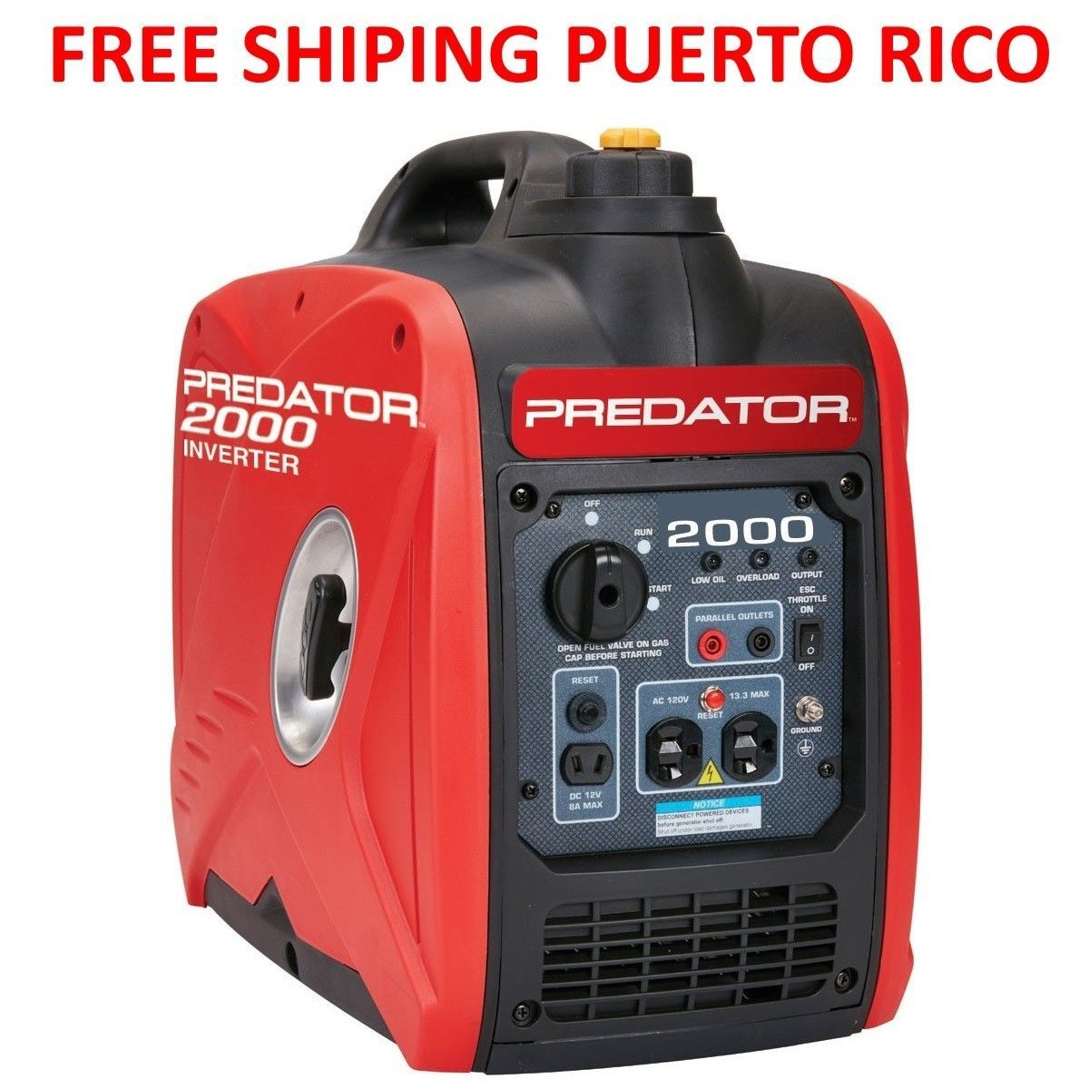 Brand New Predator 2000w Quiet Portable Generator Free Shippinga Puerto Rico Portable Inverter Generator Inverter Generator Generators For Sale