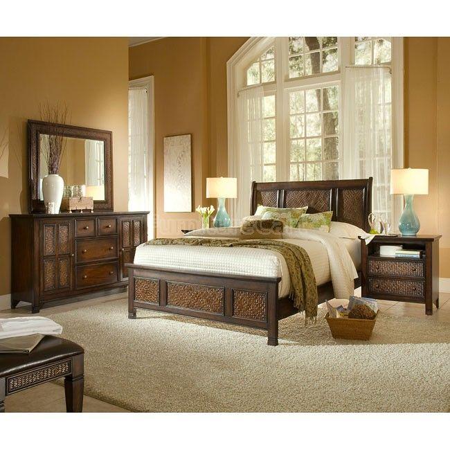 Kingston Isle Bedroom Set Brown Bedroom Inspo Master