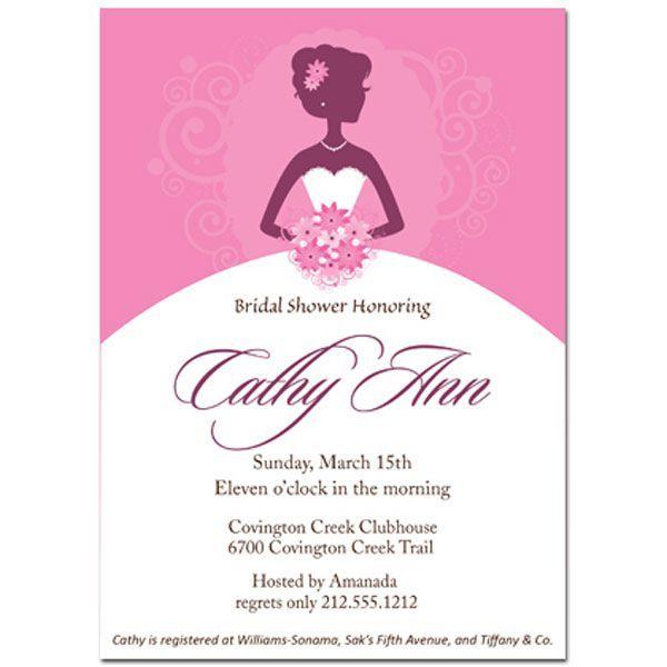 Bridal Shower Invitations Vistaprint Bridal Shower Invitations