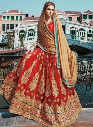 6e52d07756 ... wholesale also in velvet dresses rh pinterest. Red beige embroidery  stone work net chiffon wedding designer lehenga choli buy online shopping  at chennai