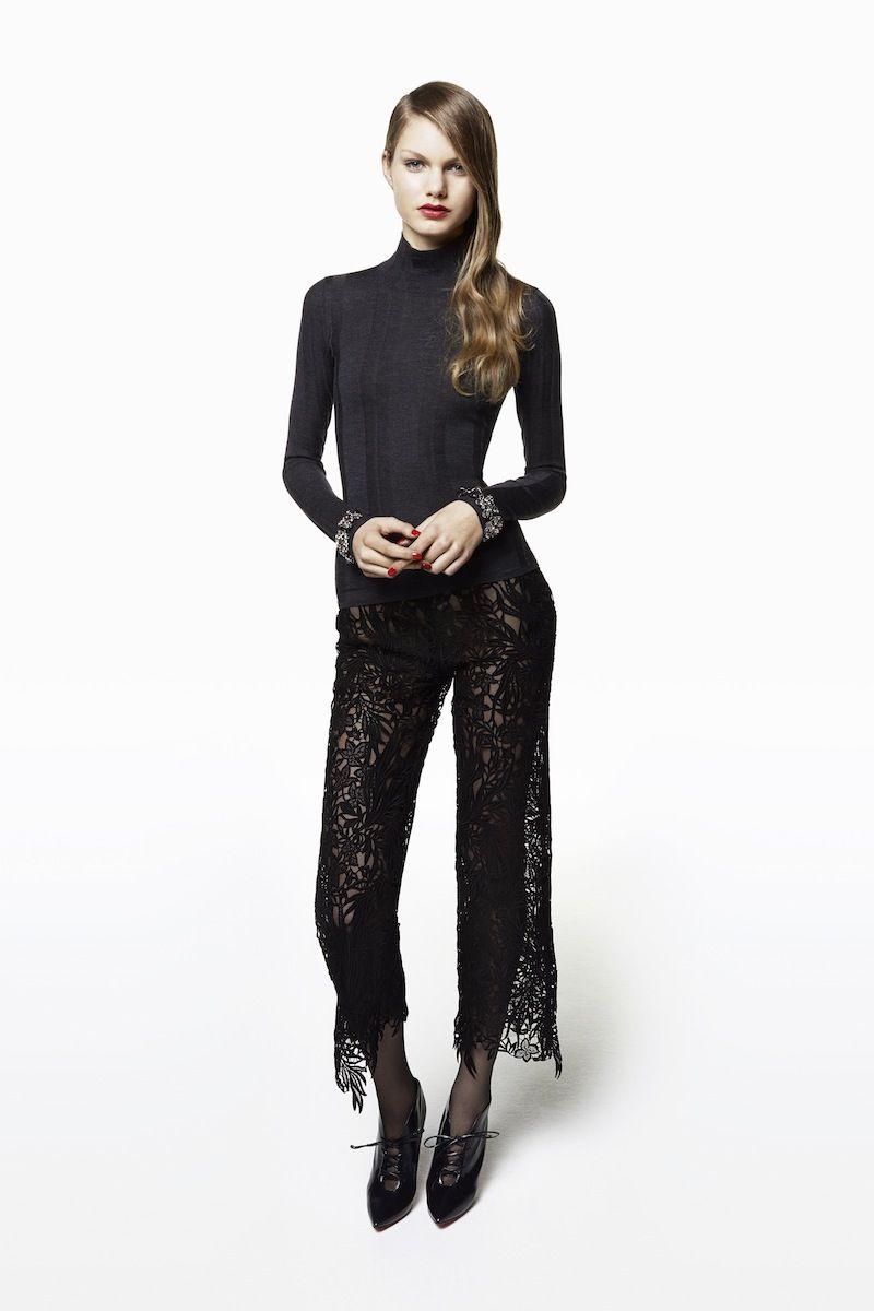 Blumarine Pre-Fall 2015 Runway – Vogue\\ Lace pants <3