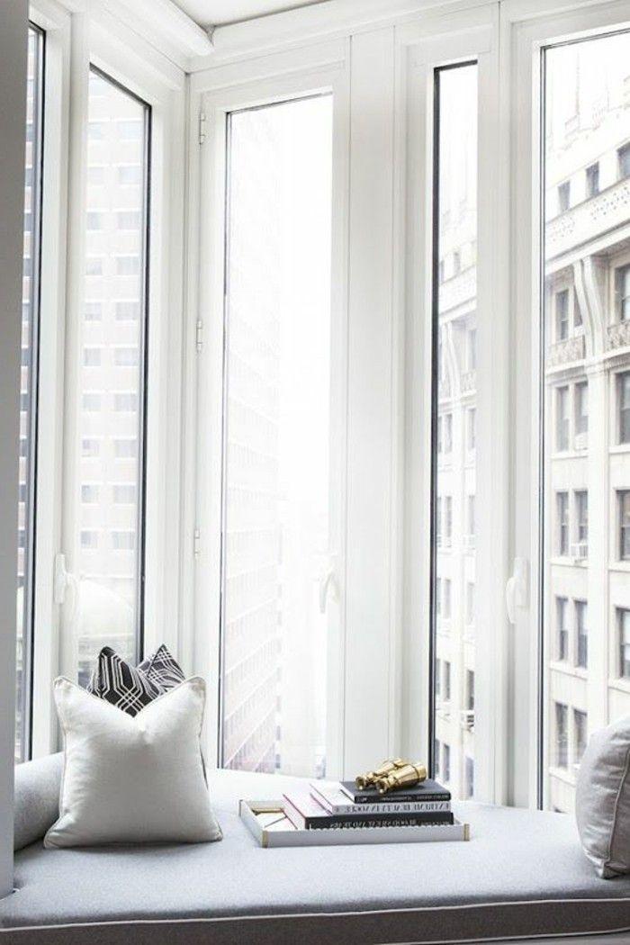 Sitzecke auf der Fensterban klein EINRICHTUNGSIDEEN Pinterest Pelz