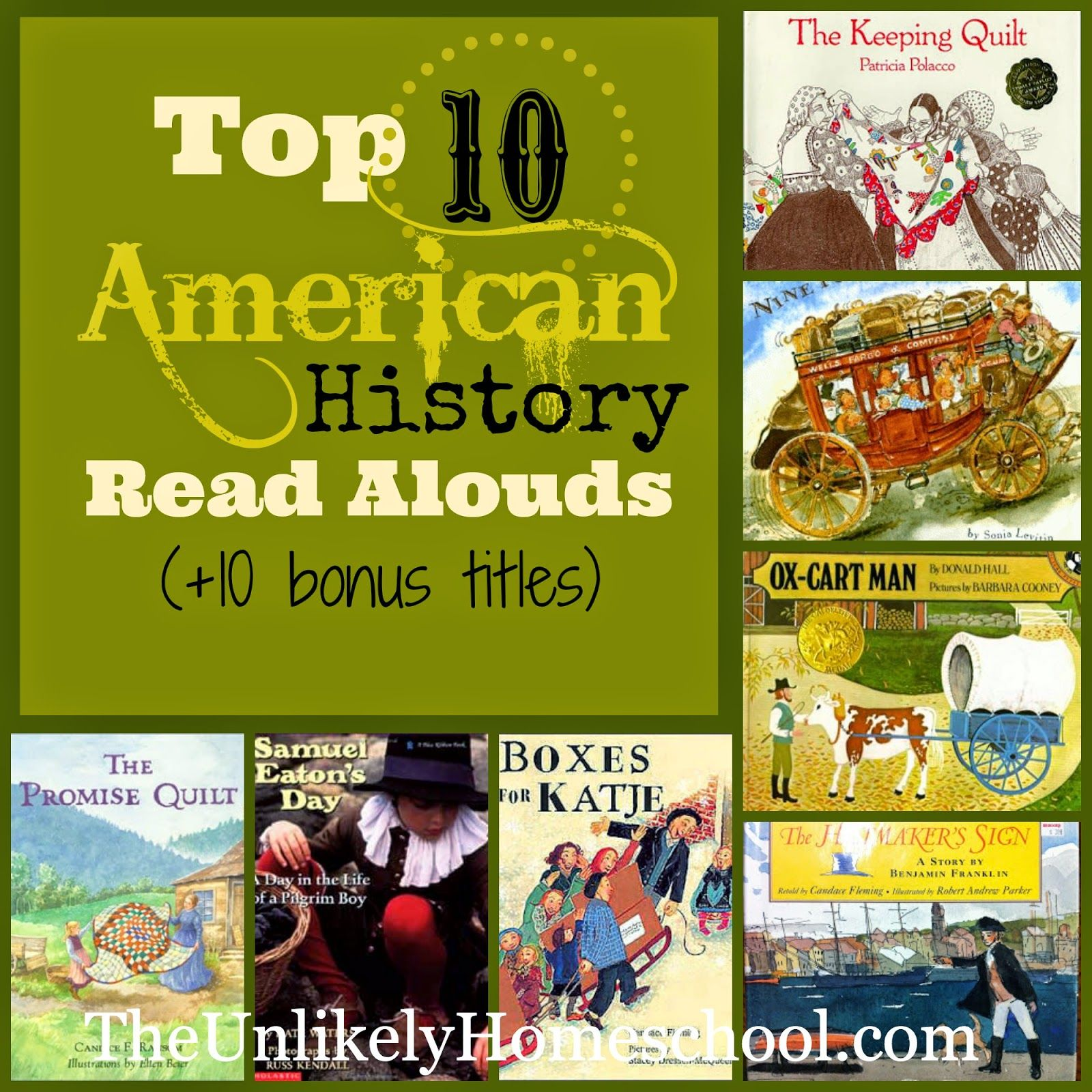 Top 10 American History Read Alouds