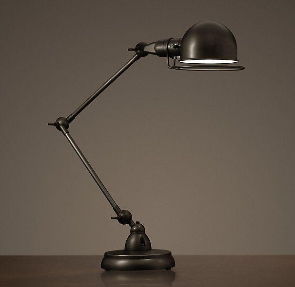 Atelier Task Table Lamp Bronze Table Lamp Lamp Restoration Hardware Lighting