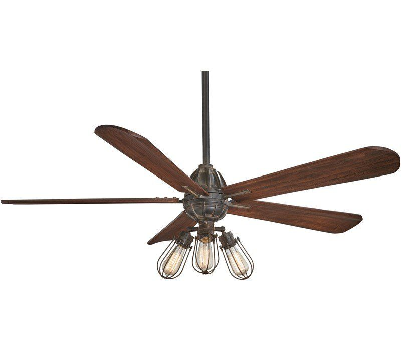 Minka Aire F852l Ti Alva Led 56 Ceiling Fan With Remote Control Tarnished Iron Led Ceiling Fan Bronze Ceiling Fan Ceiling Fan
