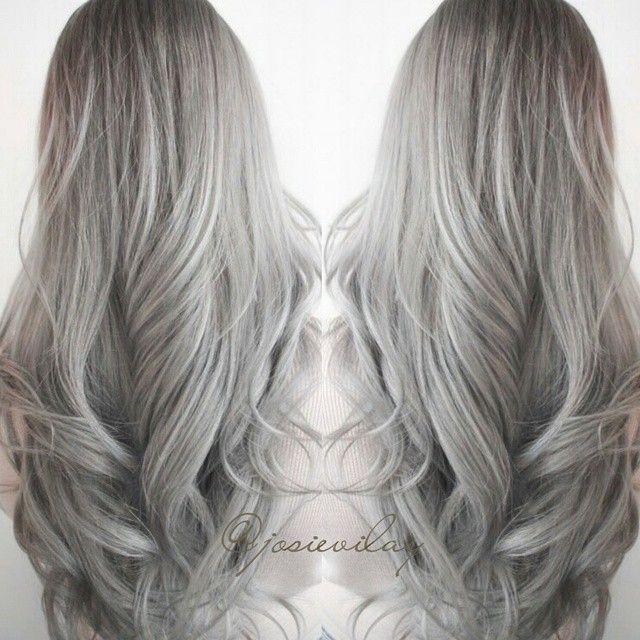 tumblr hair google search hair pinterest grey hair