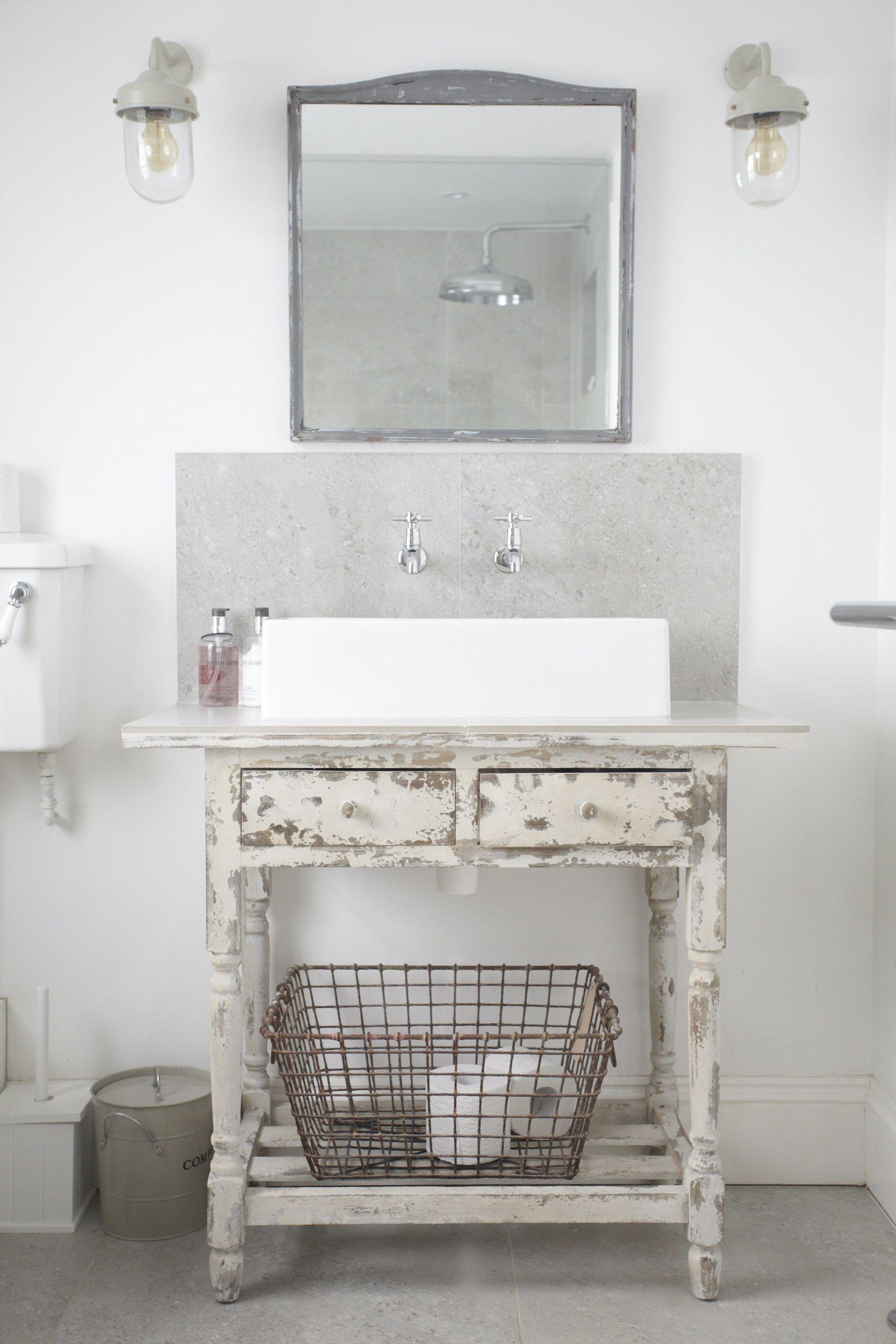 brede wasbak met twee kranen bathroom pinterest badkamer