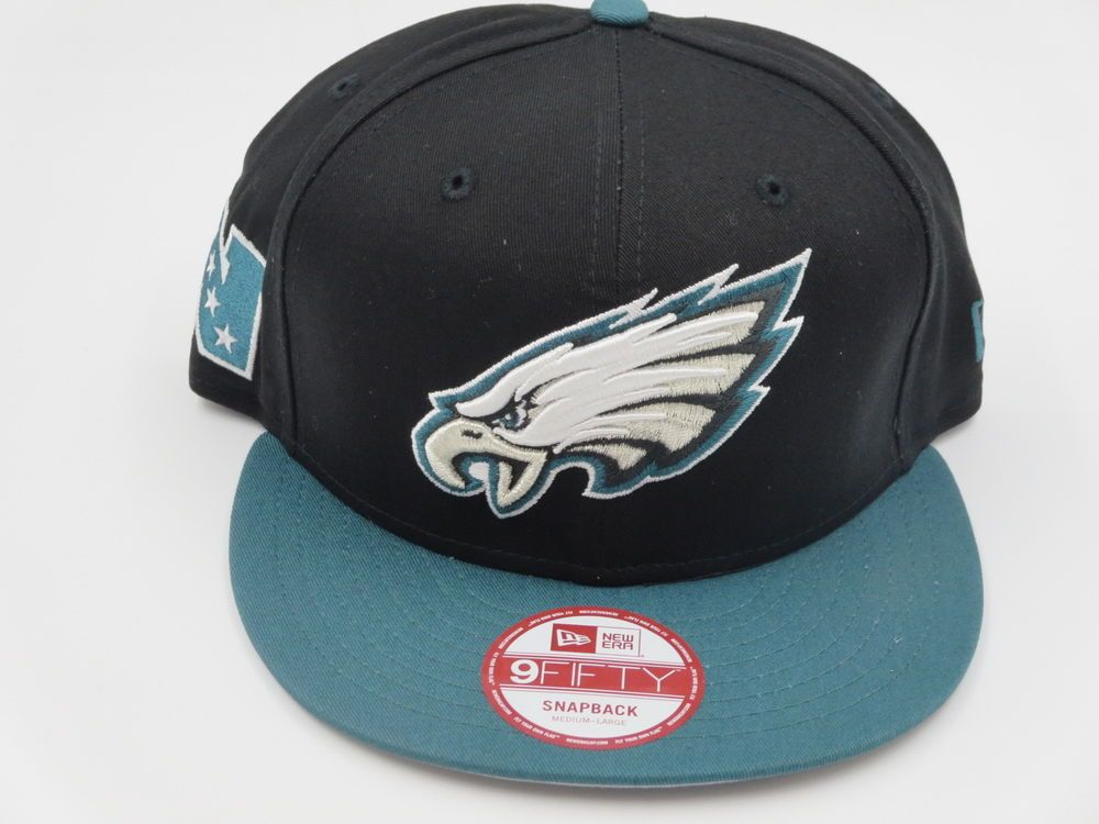competitive price 784eb 240f4 Philadelphia Eagles Throwback 9FIFTY NFL New Era Custom Snapback Hat Cap  M L  NewEra  PhiladelphiaEagles