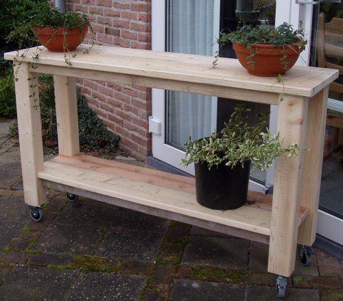 Hajavama tafels en andere meubels uit steigerhout voor for Steigerhout praxis