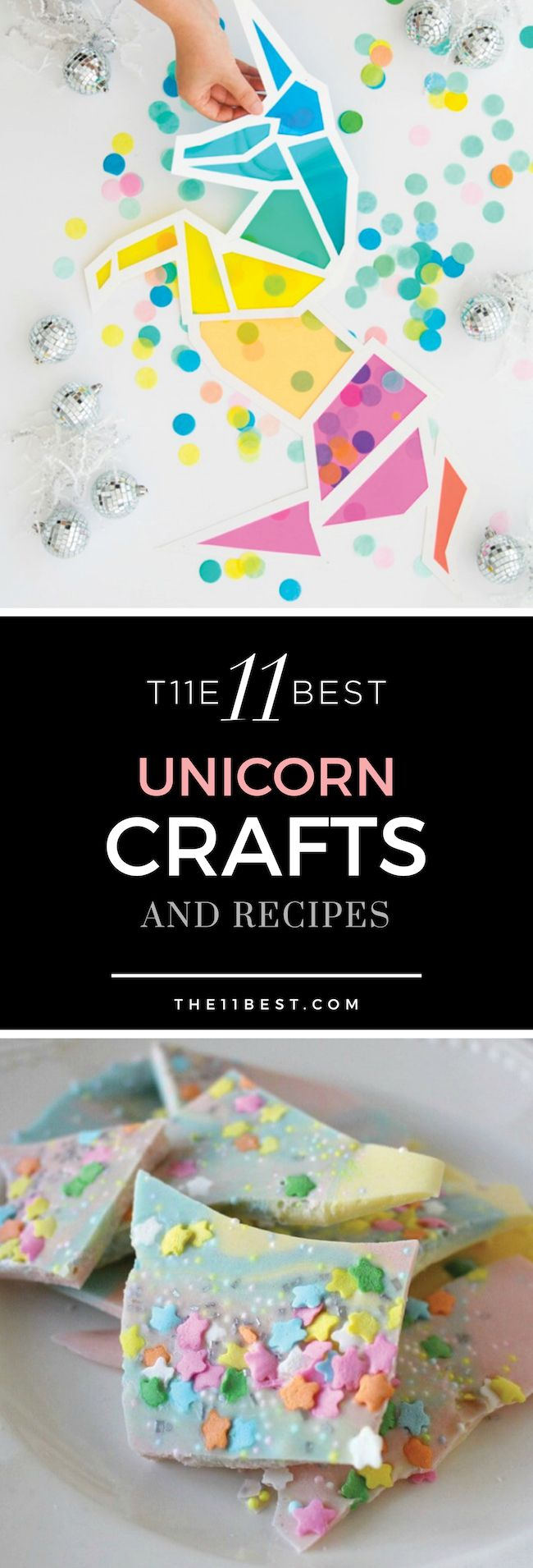 The 11 Best Unicorn Crafts - Birthday party crafts, Rainbow crafts, Unicorn crafts, Arts and crafts for teens, Craft party, Birthday crafts - Unicorn crafts, decor, and recipes that are magical! Here are the 11 Best Unicorn Crafts we could find!