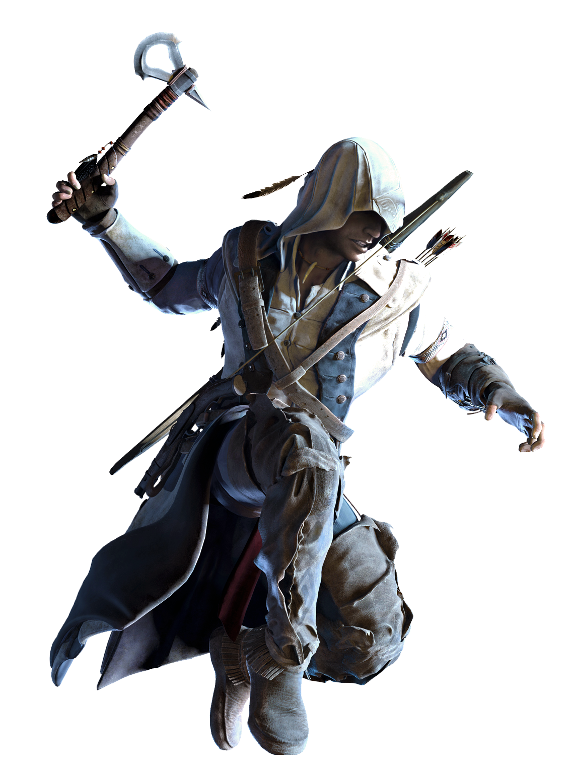 Ac3 Connor Aa Render Png Assassin S Creed All Assassin S Creed Best Assassin S Creed