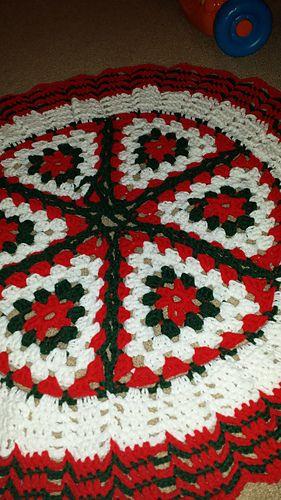 Ravelry: Christmas Crochet Tree Skirt pattern by Ruth Shepherd ...