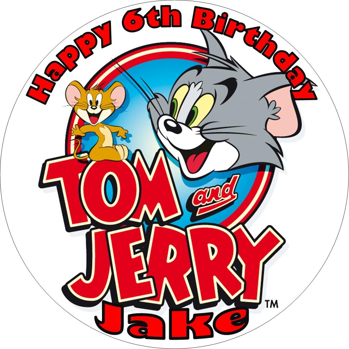 Tom jerry cake toppers