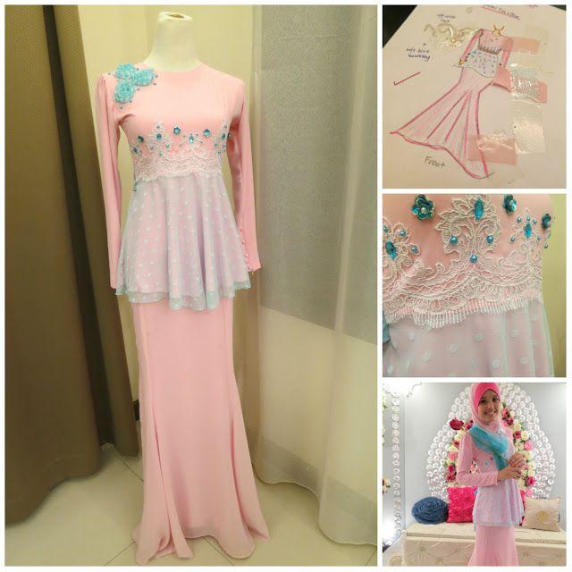 Fatin liyana maxi dress