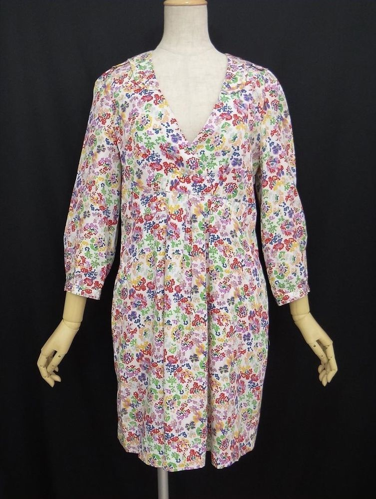 Authentic See By Chloe Dress floral Patterns Size40 from JAPAN #SeeByChloe #Casual