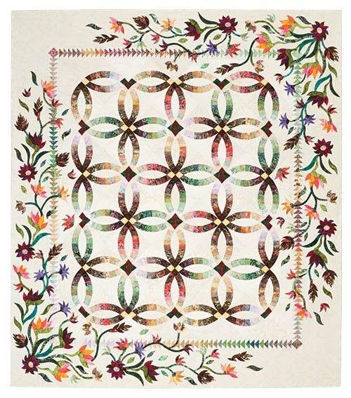 Flowers For My Wedding Ring Pattern W Stitch N Peel Templates