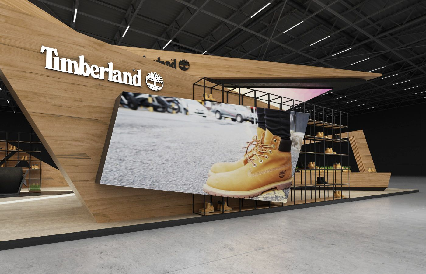 """What Does Expo Stands For : Check out this behance project """" timberland"""