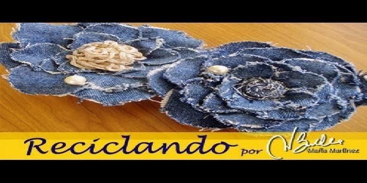 In questo video tutorial vedrete come realizzare dei fiori, riciclando dei vecchi jeans. Per realizzare questo lavoro vi occorre: una paio di vecchi jeans, un ago, alcuni