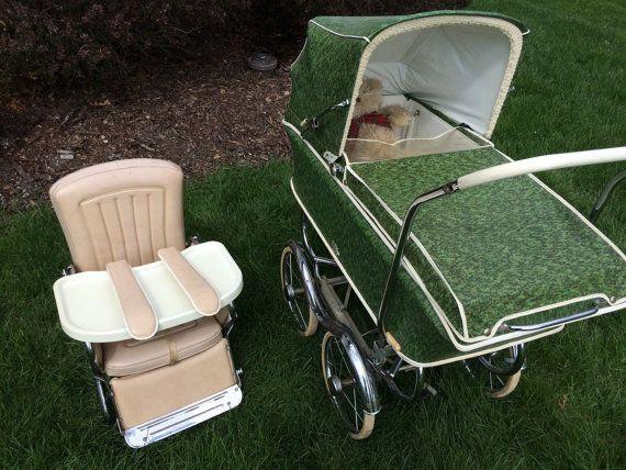 FLASH SALE Vintage REX Baby Carriage/Stroller by LadyVintage81