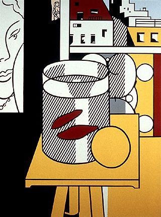 Still Life with Goldfish by Roy Lichtenstein