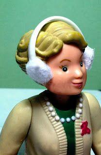 Mini Addictions: Trash to Treasure - Dollhouse Ear Muffs tutorial