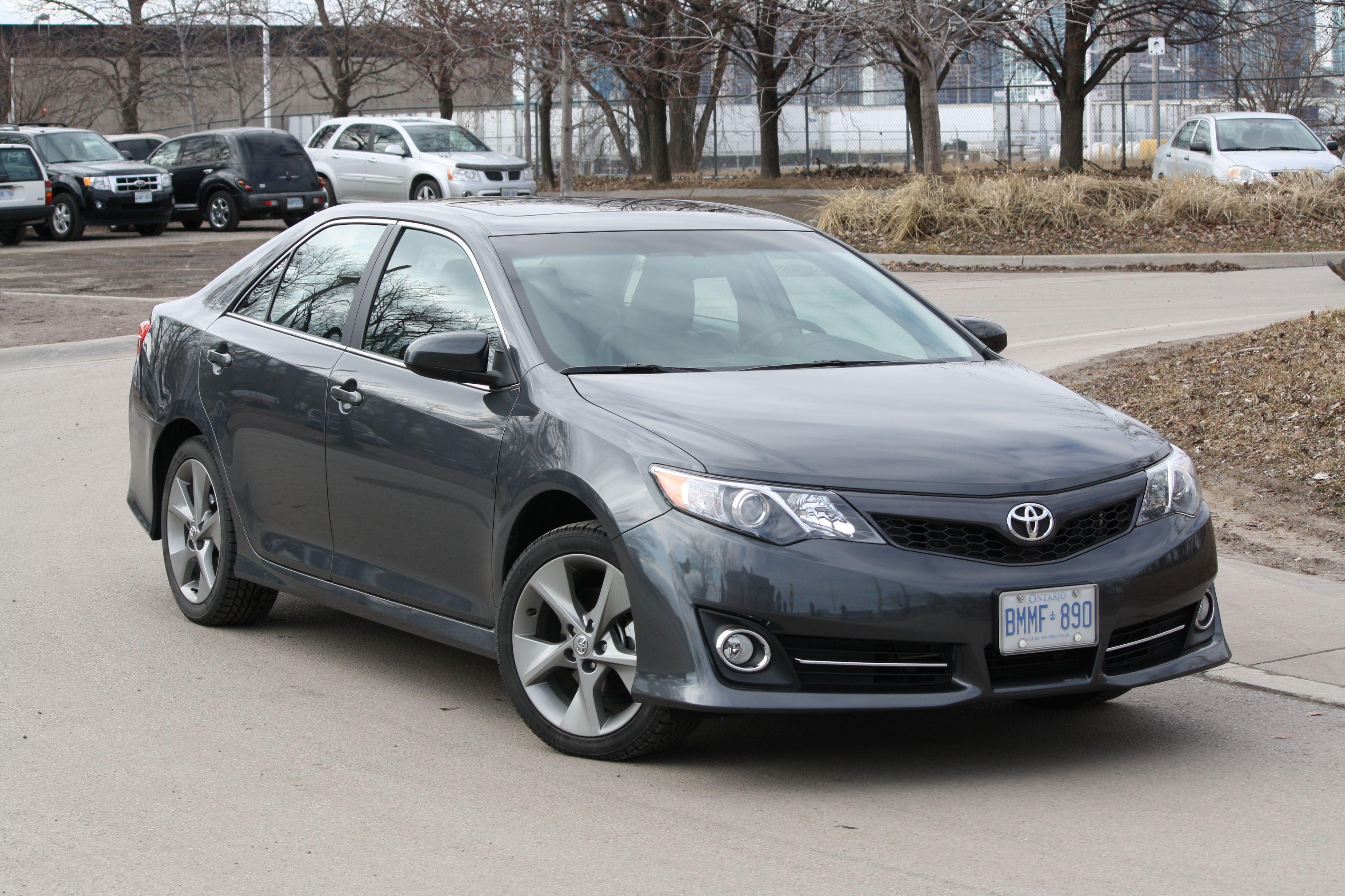 Gray Toyota Camry Solara SE Sport